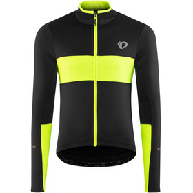 PEARL iZUMi Elite Escape Thermal Longsleeve Jersey Men black/screaming yellow 2